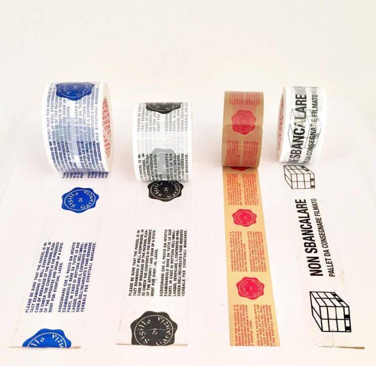 Nastro adesivo con stampa personalizzata