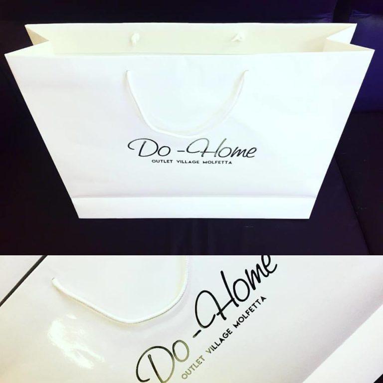 Shoppers busta con stampa personalizzata